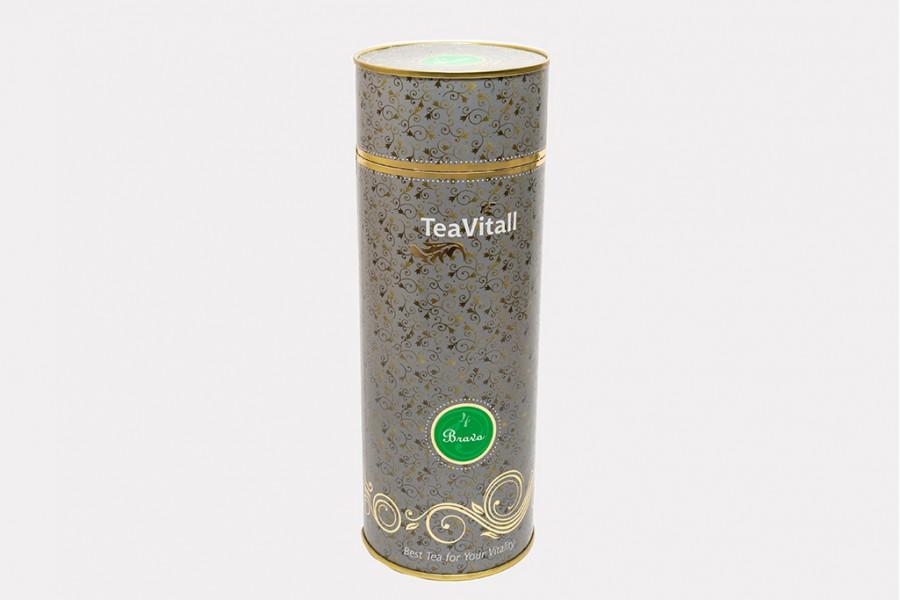 TeaVitall Bravo 4 туба 200 г.